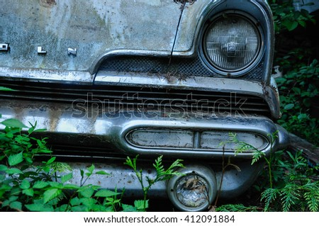 Beautiful Old Car - stock photo