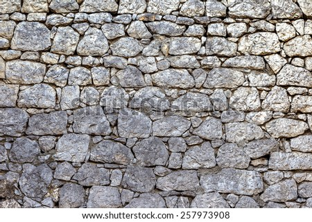 Beautiful old wall with large cracks and texture. Can be used as background