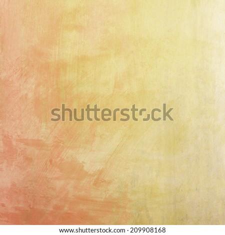 Beautiful orange pastel background - stock photo