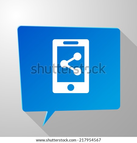 Beautiful Phone Share web icon