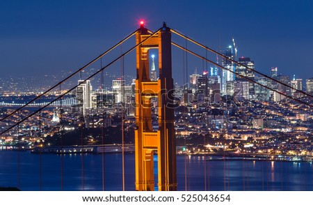Beautiful photography of Golden Gate Bridge Tower