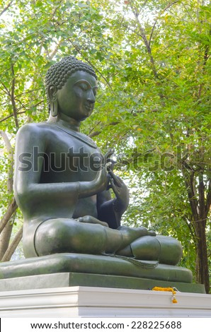 Beautiful picture of Buddha statue in Thailand - stock photo