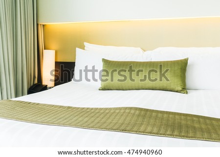 Sofa top view 3d rendering icon stock illustration for Beautiful bed decoration