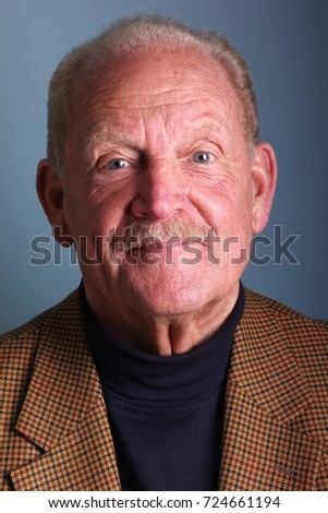 Beautiful portrait of grandpa