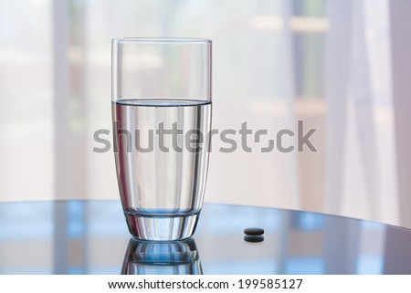 beautiful purity  water  glass healthy nature lifestyle background professional abstract