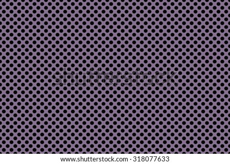 Beautiful purple graphic colors lines with back polka dots for abstract background