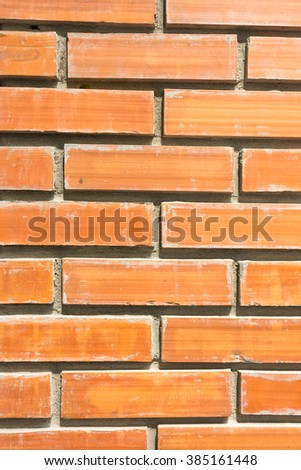 beautiful red brick wall background