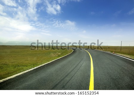 Beautiful road extension