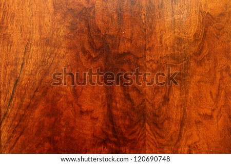 beautiful rose plywood - texture of veneer over a table - stock photo