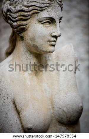 Beautiful sculpture - stock photo