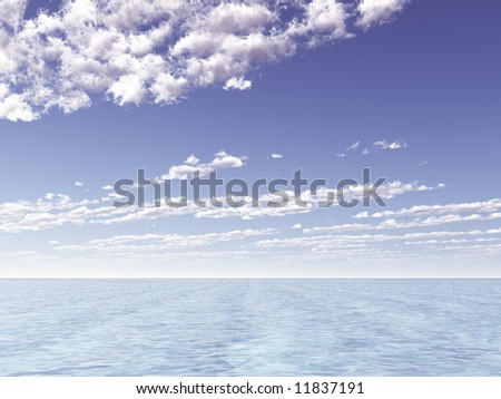 Beautiful seascape