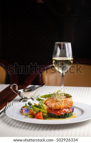 Beautiful plate stock images royalty free images for Red fish catering