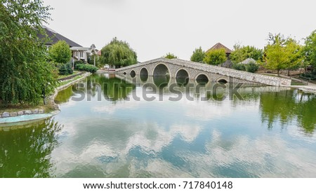 Hydroelectric Dam On Truckee River California Stock Photo