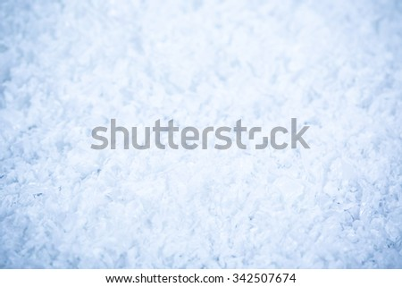 beautiful snow background close up. christmas background - stock photo