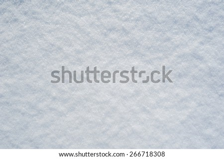 beautiful snow texture background in winter - stock photo