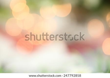 Beautiful soft background of blurred lights. - stock photo