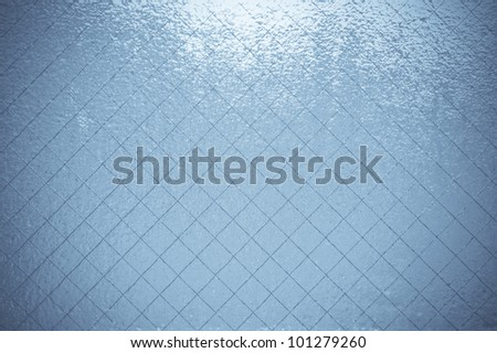 Beautiful soft glass for texture or background. - stock photo