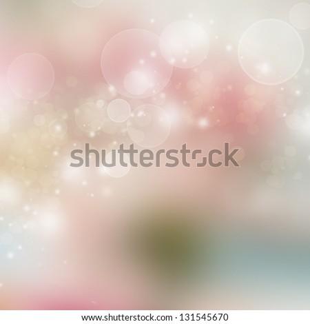 Beautiful spring background - stock photo