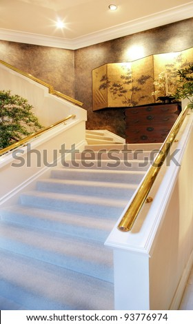 Beautiful Stairway in New Luxury Home