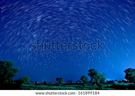 Beautiful star - stock photo
