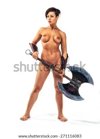 Warrior women nude clips