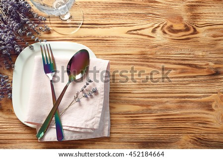 Table Setting Background romantic dinner table place setting rose stock photo 363686858