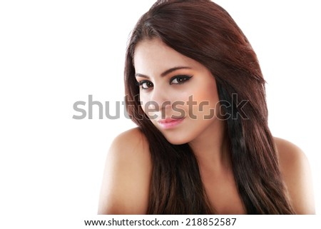 beautiful teenager posing with a positive image