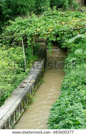 Ditch stock images royalty free images vectors shutterstock - Household water treatment a traditional approach ...