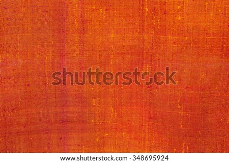 Beautiful traditional fabric, Thai design style. - stock photo
