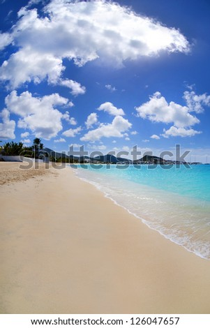 Beautiful, Tropical Caribbean Beach