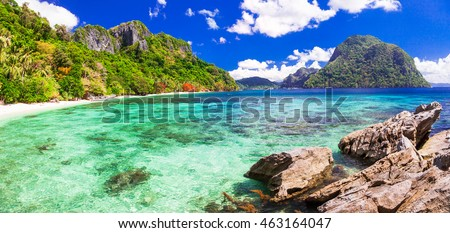 beautiful tropical islands - amazing Palawan, Philippines