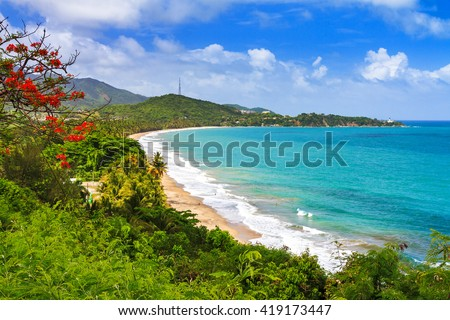 Puerto rico stock images royalty free images vectors - Puerto rico beach background ...