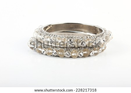 Beautiful & very Attractive Bangles. Indian Bracelet - stock photo