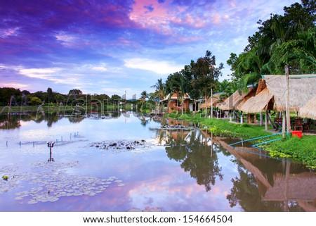 Beautiful view - stock photo