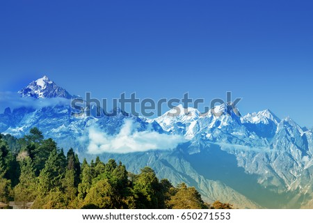 Himalayan mountains stock images royalty free images vectors beautiful view of himalayan mountains at ravangla sikkim himalaya is the great mountain range sciox Gallery