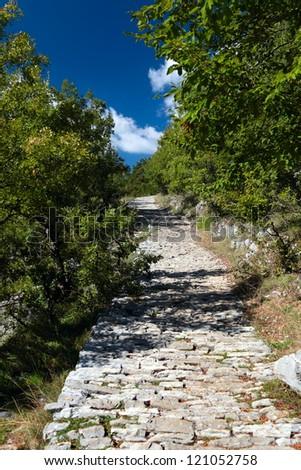 Beautiful Vikos canyon, Zagorohoria, Greece - stock photo