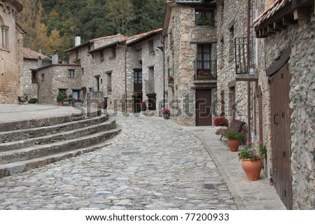 Beautiful village of Beget (Spain)