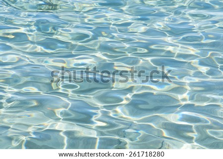 Beautiful water texture - stock photo