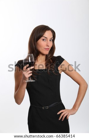 http://thumb1.shutterstock.com/display_pic_with_logo/624661/624661,1291273448,14/stock-photo-beautiful-woman-in-black-dress-tasting-red-wine-66385414.jpg