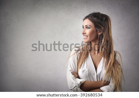 Beautiful woman's portrait