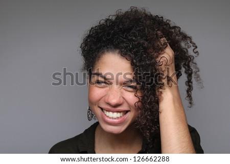 Beautiful women posing - stock photo