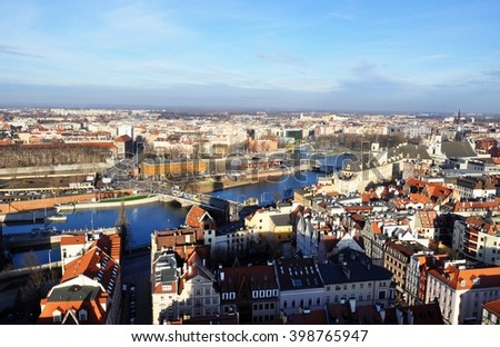 Beautiful Wroclaw view