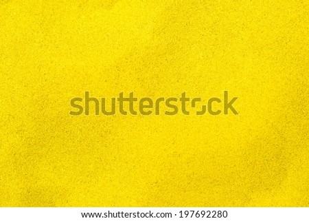 Beautiful yellow sand coloration - stock photo