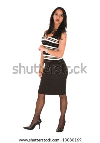 Black Pencil Skirt Stock Images, Royalty-Free Images & Vectors ...