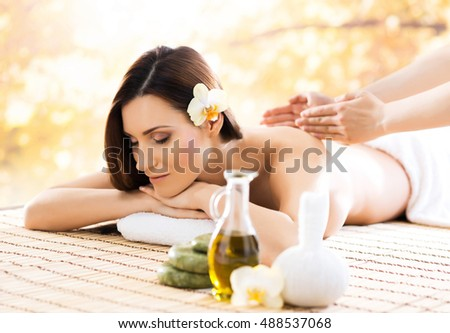 Young healthy beautiful girl relaxing winter stock photo for Salon younga