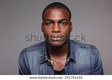 Beautiful young man - stock photo