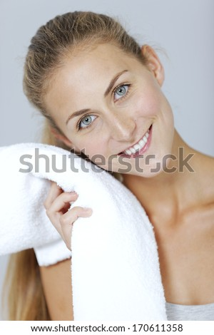 Woman sweating stock photos illustrations and vector art