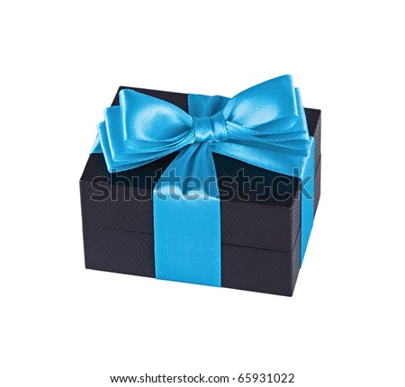 Beautifully packed surprise - stock photo
