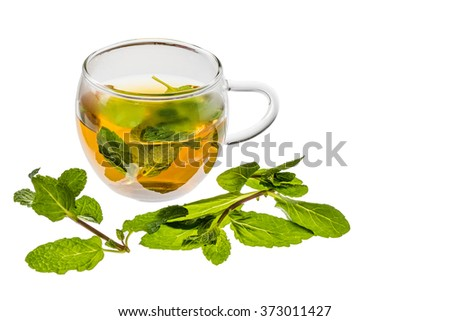 Beauty and healthy herb tea