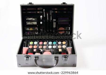 beauty case - stock photo